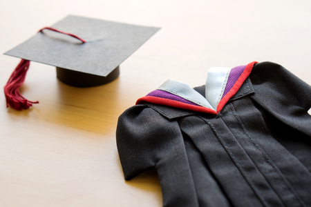 University, Adult Student, Graduation, Graduation Gown, High School Фото со стока