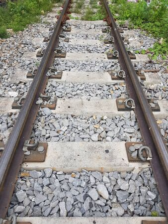 Railway Track Thailand Outback
