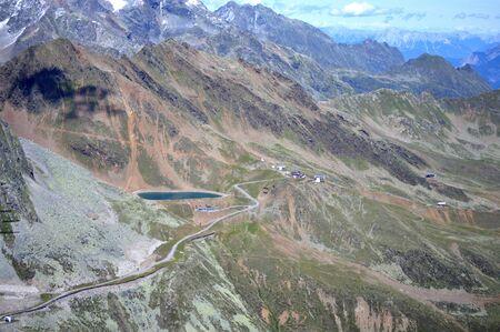 osttirol: mountain path in Austria