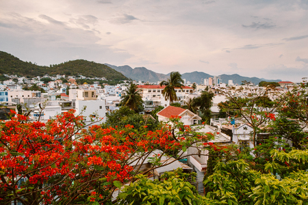 Residential complex in Nha Trang. Vietnam