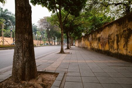 Hanoi Central Street. Quan Thanh.