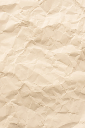wrinkled paper, used as background Stock Photo