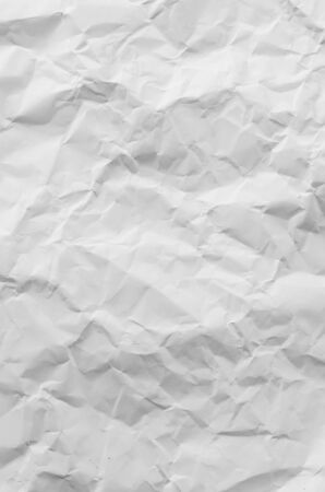 rumple: wrinkled paper, used as background Stock Photo