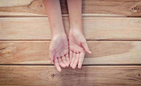mano abierta  Foto de archivo