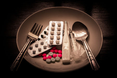 administered: Many medications are dishes for the sick who could be administered to food