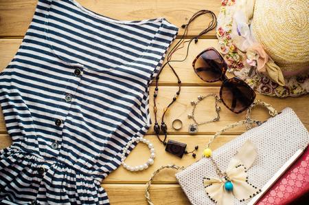 Ropa de viaje accesorios de prendas de vestir, junto con el verano para las mujeres