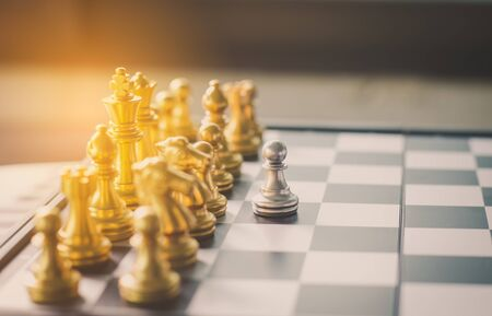Chess Schedule - Business Planning Concepts Stock Photo