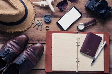 la planificación y el equipo necesario para el viaje en suelo de madera Turismo