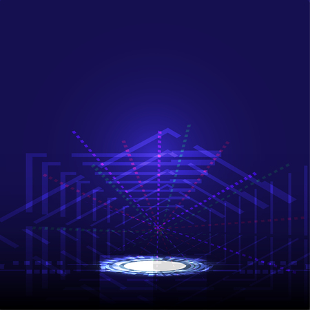 Abstract technology innovation concept vector background