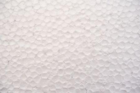 White foam sheet background Stock Photo