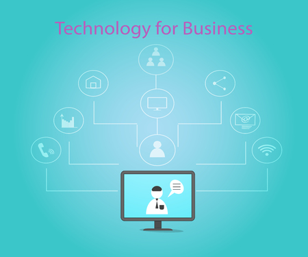 Technology networks used in business today.