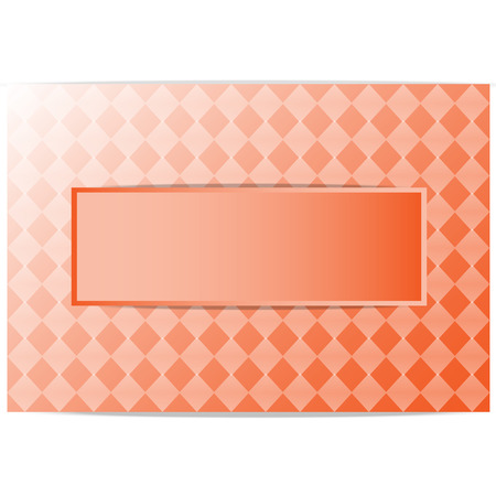 Orange grid background and space for text messages. vactor background EPS 10