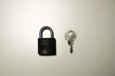 quandary: Padlock and key