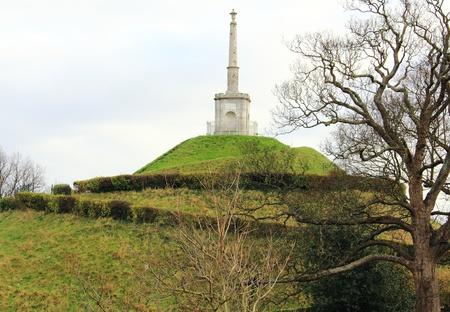 boer: Boer War Memorial Gardens en el Dane John en Canterbury, Kent Foto de archivo