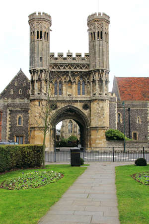 anglo saxon: Medieval Gate of St Augustines Abbey