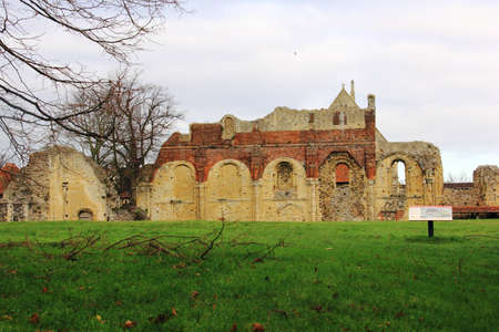 kent: St Augustines Abbey in Canterbury Kent Stock Photo