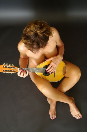 mandolino: Mandolino giocatore B