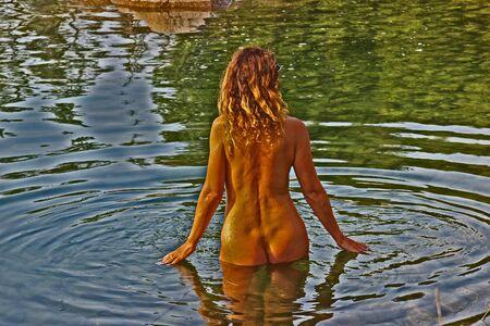 Nudismo C Archivio Fotografico - 551551