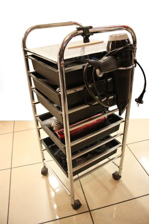 Working tool for a master hairdresser