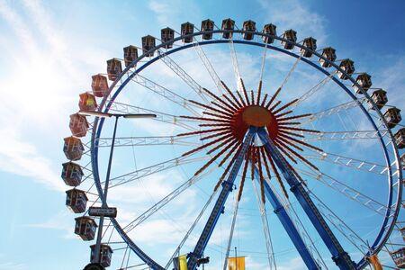 Ferris wheel at the Oktoberfest in Bavaria photo