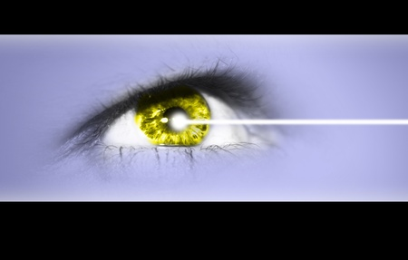 Detailed close-up view of the human eye Stock Photo - 9219739
