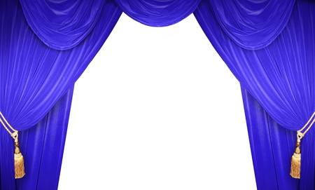 curtain of a classical theater Stock fotó - 9364678