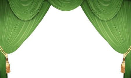 curtain of a classical theater