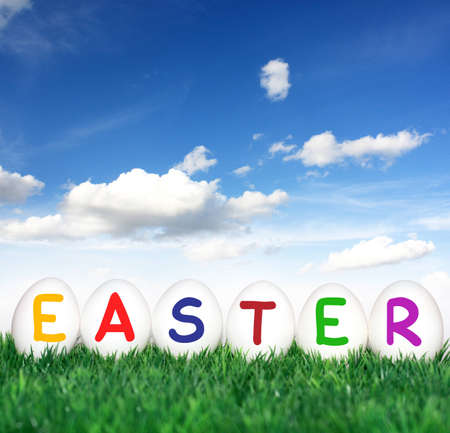 Beautiful decorations for the Easter Stock Photo - 12586088