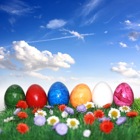 Beautiful decorations for the Easter