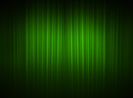 green curtain of a classical theater  photo