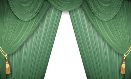 curtain of a classical theater  Stock Photo - 13069776