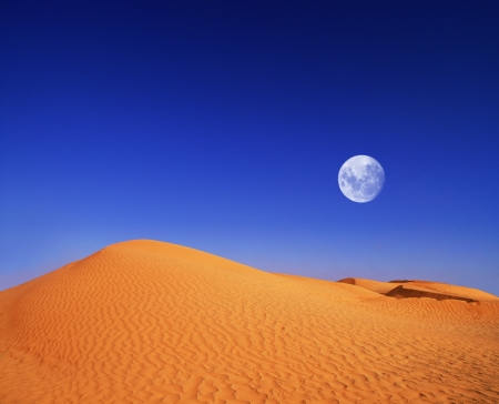 beautiful day in the dunes of Africa Stock Photo