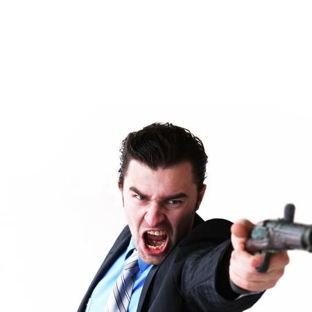 Businessman takes to gun to protect his business photo