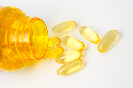 supplement: Fish Oil supplement with Omega3 capsules.