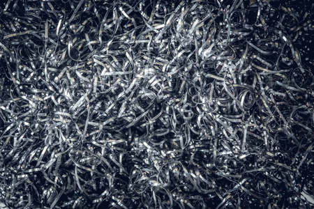 fuzz: steel wool from scouring pads for background. Stock Photo