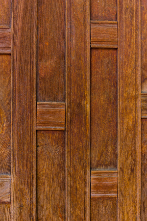 house with style: Thai style wood wall
