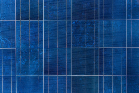 photocell: Solar panel or solar cell texture pattern background. Stock Photo