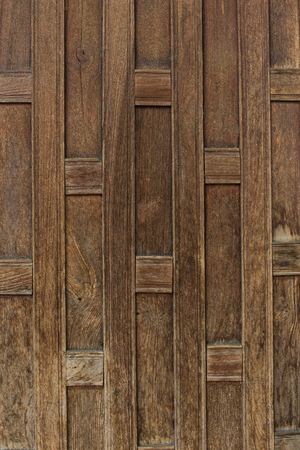 style: Thai style wood wall