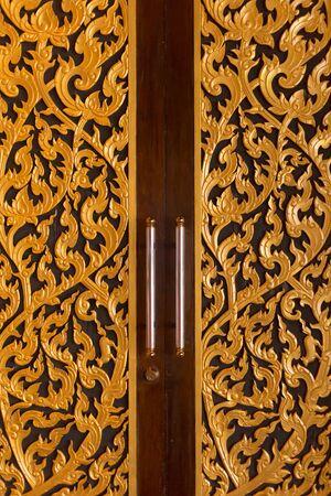 Thai pattern door
