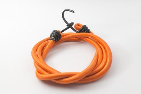 elasticity: color anaranjado cuerda elástica con gancho