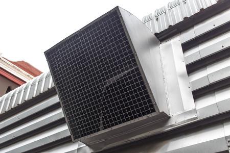 orificio nasal: conducto de aire, ventilación o de fábrica industrial