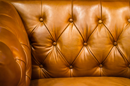 Leather sofa for background Stock Photo
