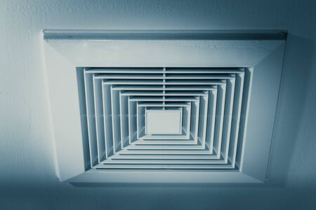 pneumoniae: Air Duct, Danger and the cause of pneumonia in office man. Stock Photo