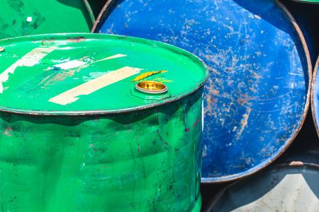 brent: Oil Tank Old Rusty Danger feeling color tone.