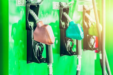 Green energy biofuel or bio diesel petrol gas station business.