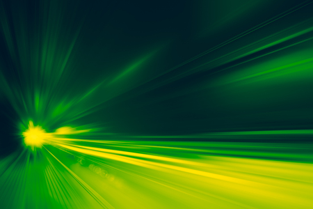 High speed business and technology concept, Acceleration super fast speedy car drive motion blur of light fastest abstract for background design.