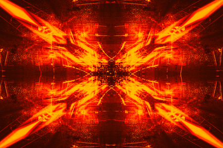 futurist: Futuristic Sci-Fi Complex New Era abstract. Hi tech Cyber Space, Advanced Technology concept background. Stock Photo