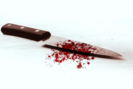 blood knife, killer violance murderer concept.