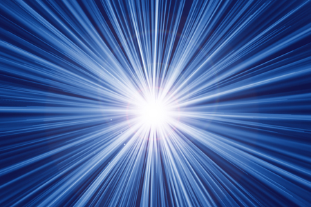 fast zoom motion speed light effect abstract background Stock Photo