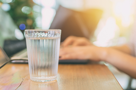 drinking or sip water while working in office better for health